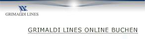 GRIMALDI LINES online Buchen